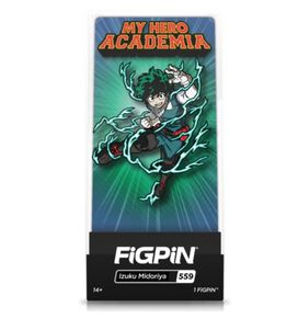 My Hero Academia - Deku Action Pose FiGPiN