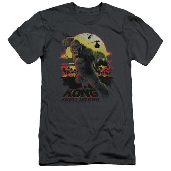 Kong Skull Island Kong Sunset Hbo Short Sleeve Adult T-Shirt