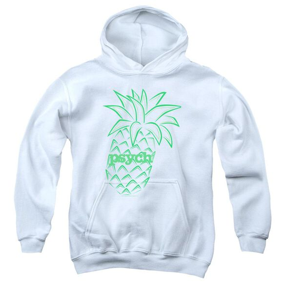 Psych Pineapple Youth Pull Over Hoodie