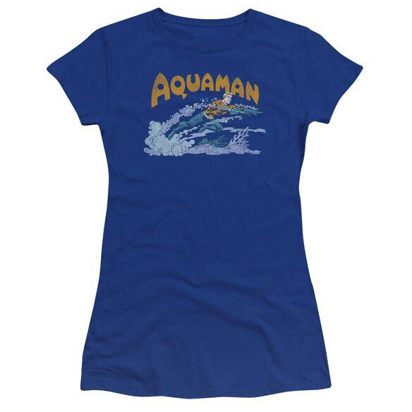 Dc Aqua Swim Premium Bella Junior Sheer Jersey Royal
