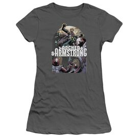 Archer & Armstrong Dropping In Short Sleeve Junior Sheer T-Shirt