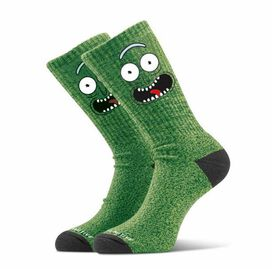 Primitive x Rick and Morty Pickle Rick Crew Sock