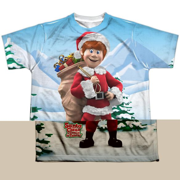 SANTA CLAUS IS COMIN TO TOWN HELPERS-S/S YOUTH T-Shirt