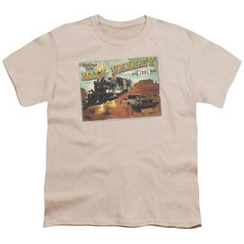 Back To The Future Iii Hill Valley Postcard Short Sleeve Youth T-Shirt