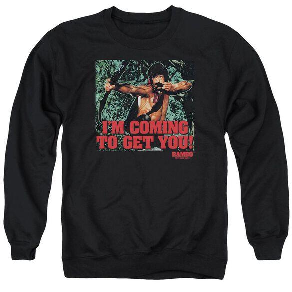 Rambo:First Blood Ii I'm Coming Adult Crewneck Sweatshirt