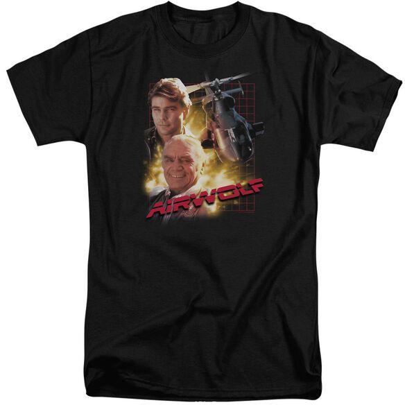 Airwolf Airwolf Short Sleeve Adult Tall T-Shirt