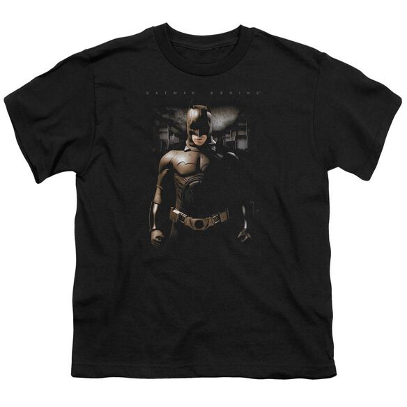 Batman Begins Gotham Bats Short Sleeve Youth T-Shirt
