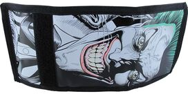 Joker Full Face Smile Velcro Wallet
