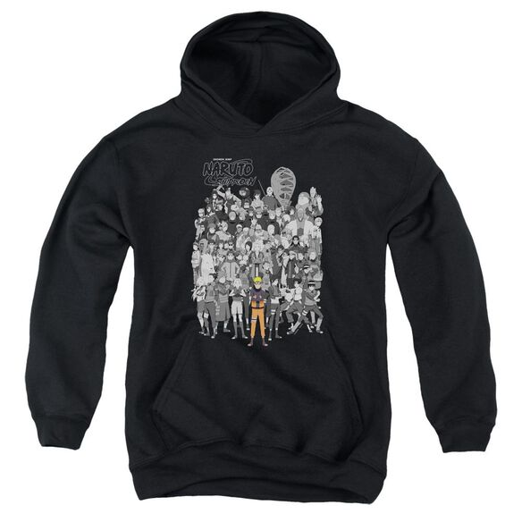 Naruto Characters Youth Pull Over Hoodie