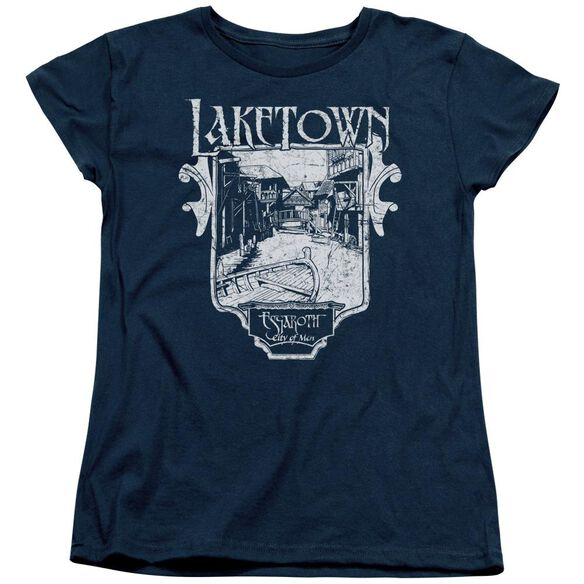 Hobbit Laketown Simple Short Sleeve Womens Tee T-Shirt