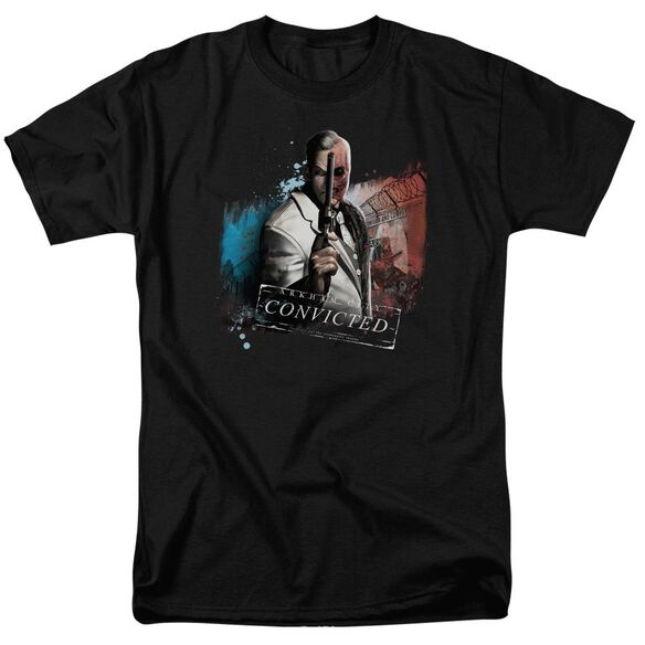 Arkham City Two Face Short Sleeve Adult T-Shirt
