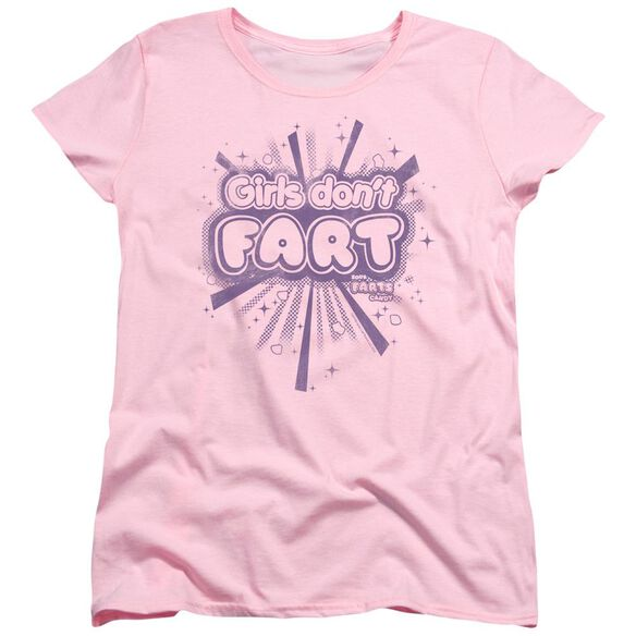 Farts Candy Girls Dont Fart Short Sleeve Womens Tee T-Shirt