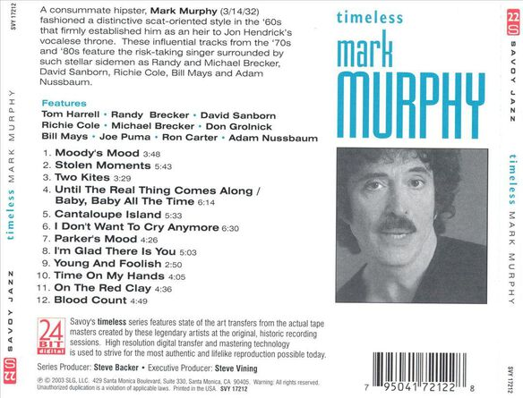 Timeless Mark Murphy 0403