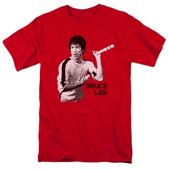 Bruce Lee Nunchucks Short Sleeve Adult T-Shirt