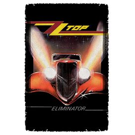 Zz Top Eliminator Cover Woven Throw