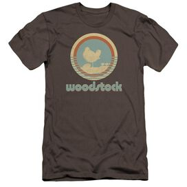 Woodstock Bird Circle Hbo Short Sleeve Adult T-Shirt