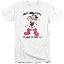 Astro Boy Who Needs Parts Short Sleeve Adult Tall T-Shirt