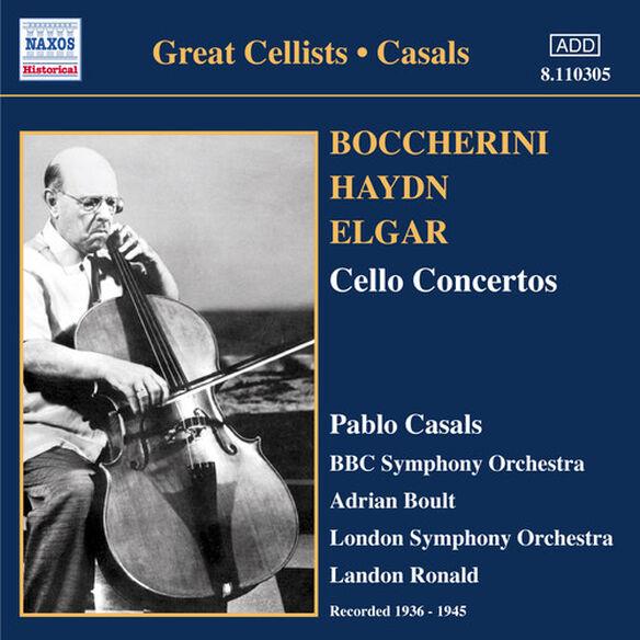 Haydn/ Bach/ Boccherini - Concertos Pour Violoncelle