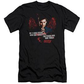 Dexter Good Bad Premuim Canvas Adult Slim Fit