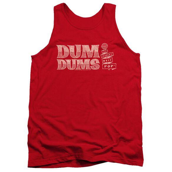 Dum Dums Worlds Best Adult Tank