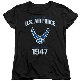 Air Force Property Of Short Sleeve Womens Tee T-Shirt