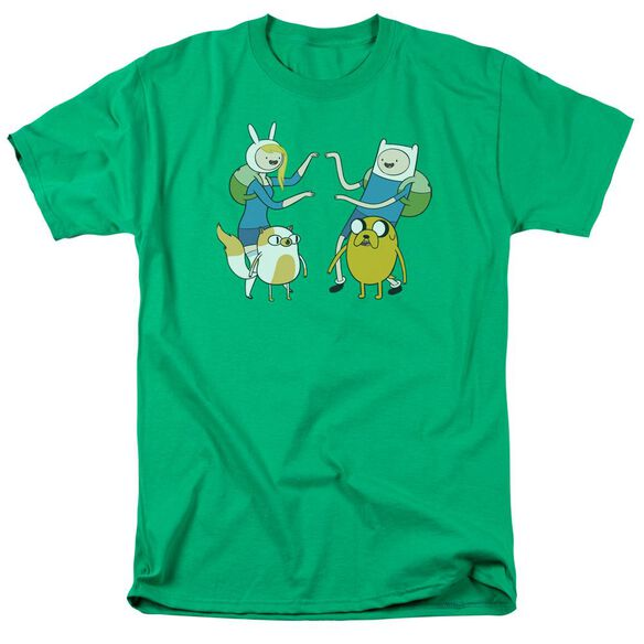 Adventure Time Meet Up Short Sleeve Adult Kelly T-Shirt