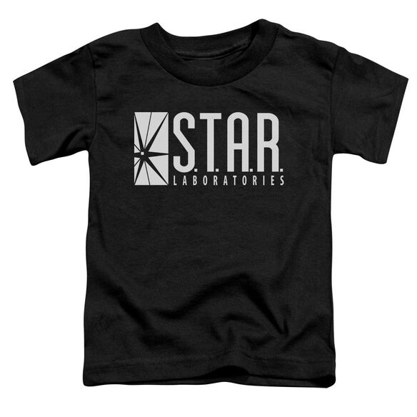 The Flash S.T.A.R. Short Sleeve Toddler Tee Black T-Shirt