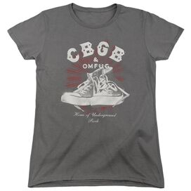 Cbgb High Tops Short Sleeve Womens Tee T-Shirt