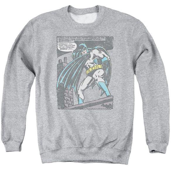 Batman Bat Origins Adult Crewneck Sweatshirt Athletic