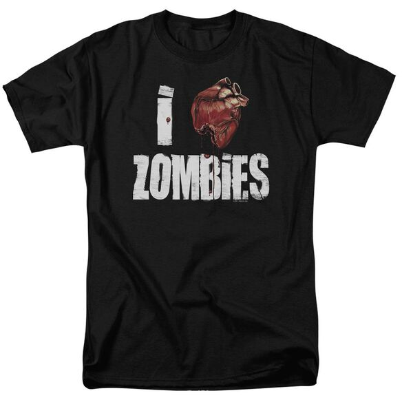 I Bloody Heart Zobmies Short Sleeve Adult T-Shirt