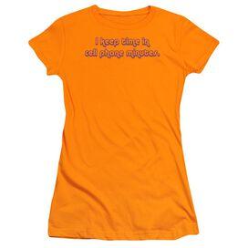 CELL PHONE MINUTES - JUNIOR SHEER T-Shirt