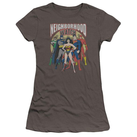 Jla Neighborhood Watch Premium Bella Junior Sheer Jersey