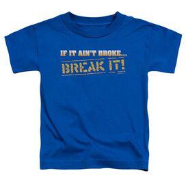 BREAK IT - TODDLER TEE - ROYAL BLUE - T-Shirt