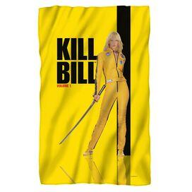 Kill Bill Vol 1 Poster Fleece Blanket