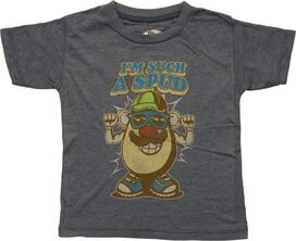 Mr Potato Head Im Such a Spud Toddler T-Shirt