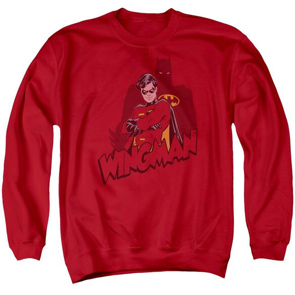 Batman Wingman Adult Crewneck Sweatshirt