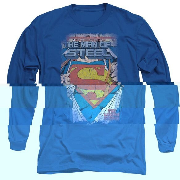 SUPERMAN LEGENDARY-L/S ADULT T-Shirt