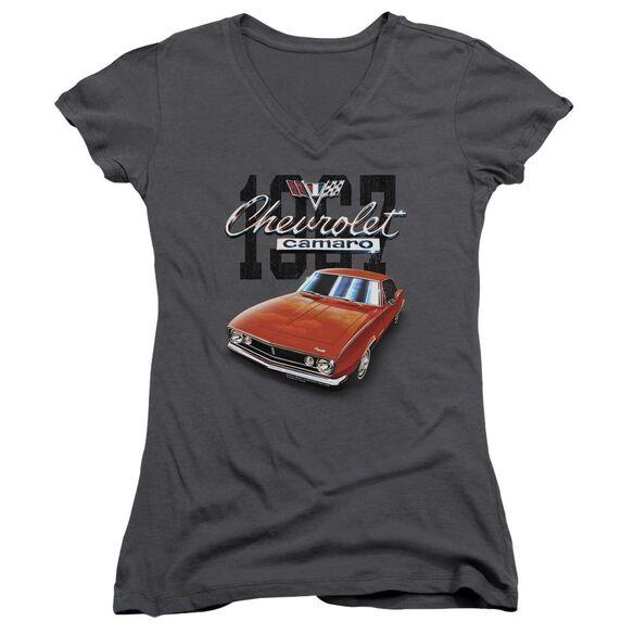 Chevrolet Classic Camaro Junior V Neck T-Shirt