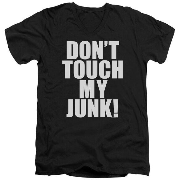 Dtmj Short Sleeve Adult V Neck T-Shirt
