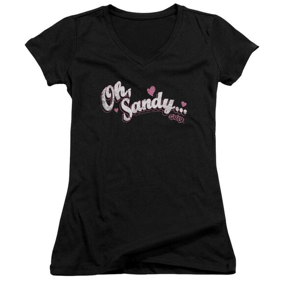 Grease Oh Sandy Junior V Neck T-Shirt