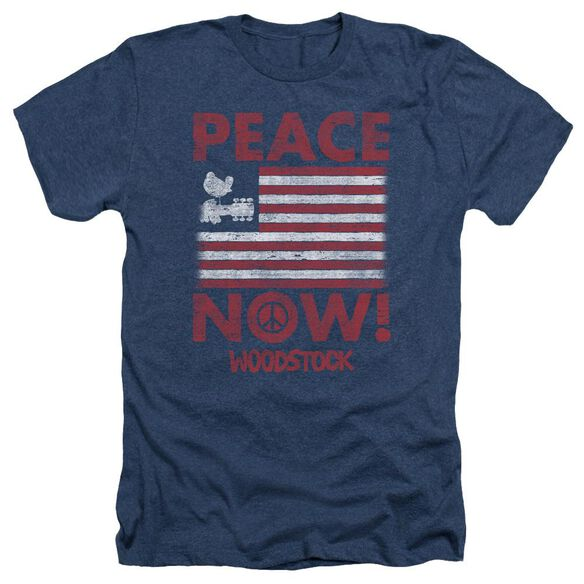 Woodstock Peace Now Adult Heather