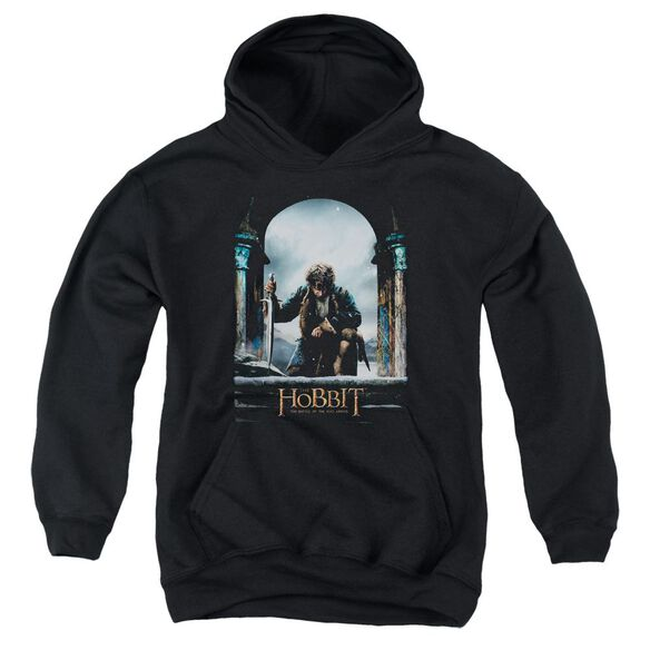 Hobbit Bilbo Poster Youth Pull Over Hoodie