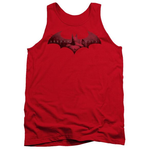 Arkham City In The City - Adult Tank - Red