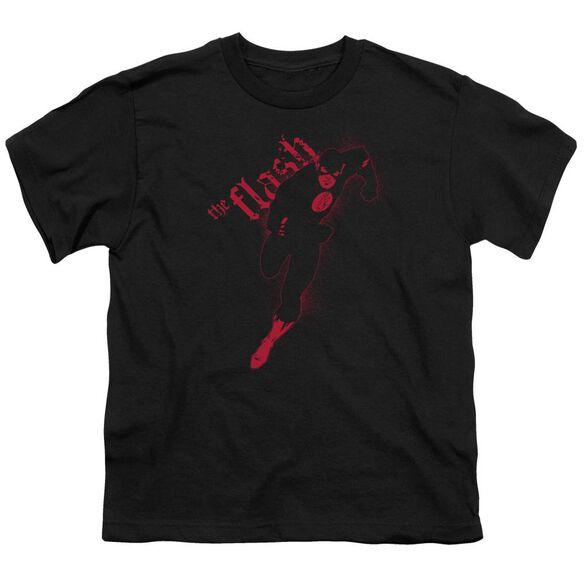Jla Flash Darkness Short Sleeve Youth T-Shirt