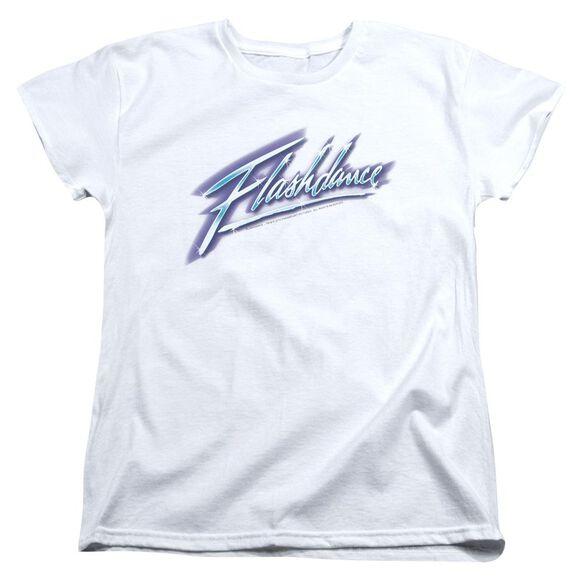Flashdance Logo Short Sleeve Womens Tee T-Shirt