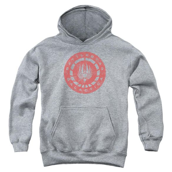 Bsg Eroded Logo Youth Pull Over Hoodie Athletic