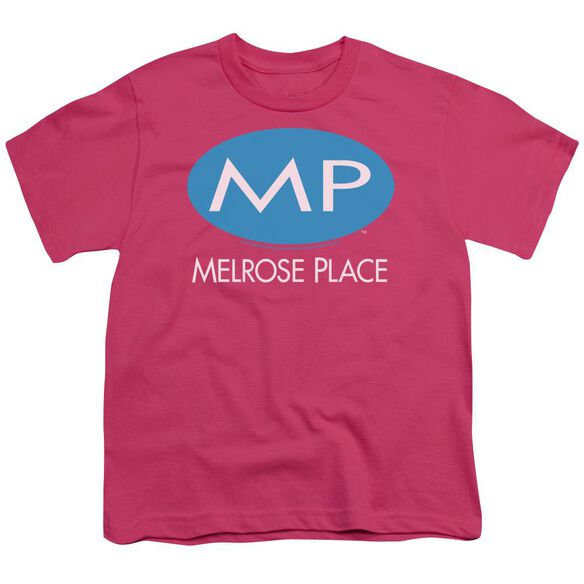 Melrose Place Melrose Place Logo Short Sleeve Youth Hot T-Shirt