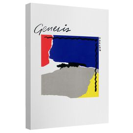 Genesis Abacab Canvas Wall Art With Back Board