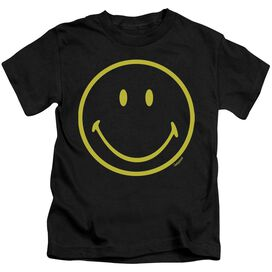 Smiley World Yellow Line Smiley Short Sleeve Juvenile T-Shirt