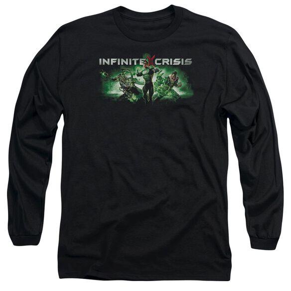 Infinite Crisis Ic Green Long Sleeve Adult T-Shirt